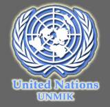 Bandera de UNMIK