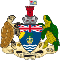 Escudo de Territorio Británico del Océano Índico