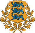 Escudo de Estonia