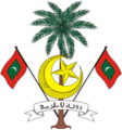 Escudo de Maldivas